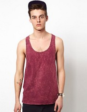 ASOS Tank With Stone Wash
