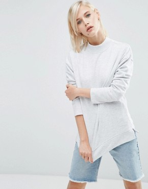 ASOS High Neck Sweatshirt