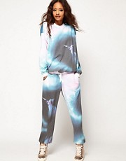 ASOS Sweatpants in Fantasia Print