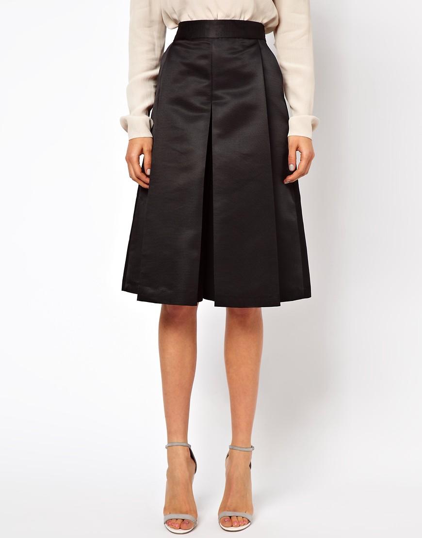 Image 4 ofASOS Stiff Culottes