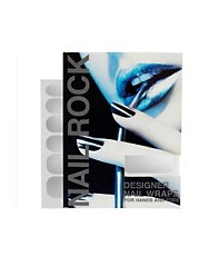 Nail Rock Metallic Designer Nail Wraps