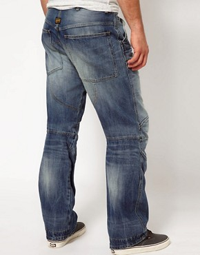 Image 2 of G Star Jeans Elwood 3D Loose Fit Medium Aged