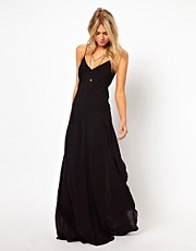 ASOS Maxi Dress With Seam Detail