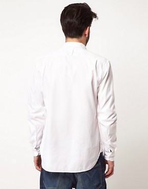 Image 2 ofLevi&#39;s Made &amp; Crafted 1 Pocket Oxford Shirt