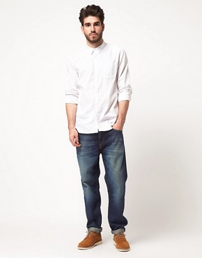 Image 4 ofLevi&#39;s Made &amp; Crafted 1 Pocket Oxford Shirt