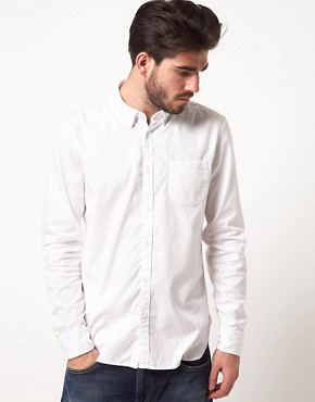 Image 1 ofLevi&#39;s Made &amp; Crafted 1 Pocket Oxford Shirt