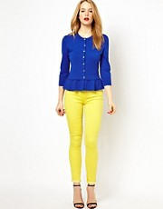 Karen Millen Skinny Denim Leggings