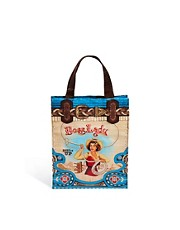 Bolso shopper pequeo con estampado Boss Lady de Blue Q