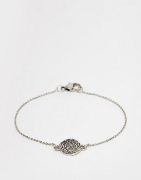 Selected Femme Disc Bracelet
