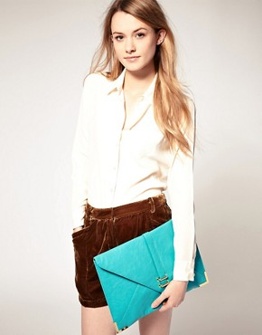 Image 3 ofASOS Slot Through Portfolio Clutch