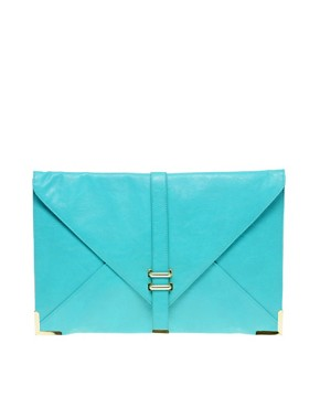 Image 1 ofASOS Slot Through Portfolio Clutch