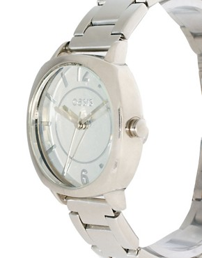 Image 3 ofOasis Silver Bracelet Watch With Square Face