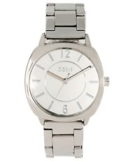 Oasis Silver Bracelet Watch With Square Face