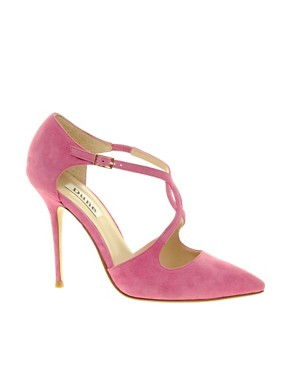Image 1 of Dune Bob Cross Vamp Pointed Court Shoes