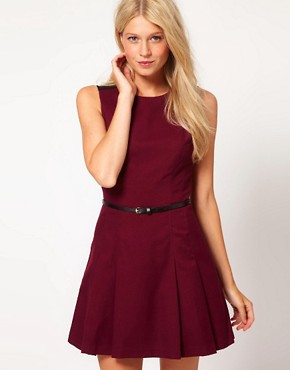 Image 1 ofOasis Fit And Flare Dress