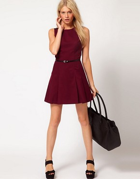 Image 4 ofOasis Fit And Flare Dress
