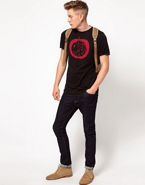 Image 4 ofPretty Green T-Shirt with Apple Print