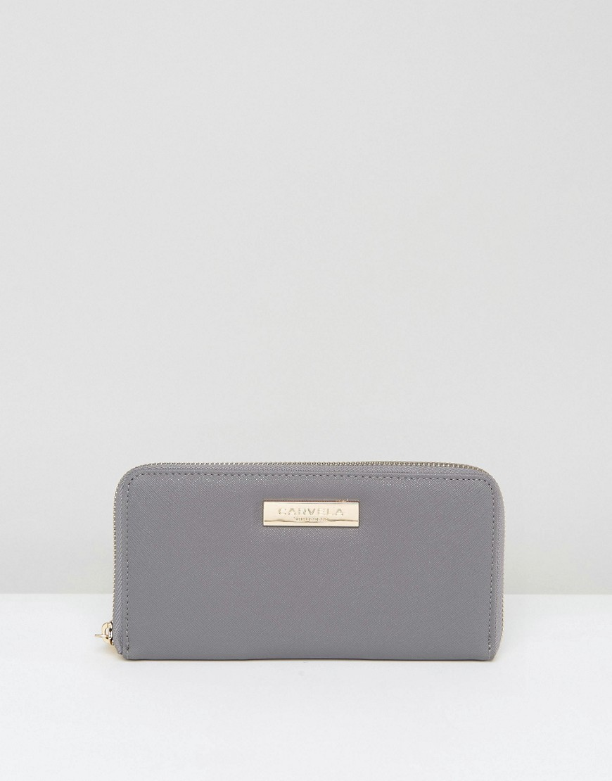 Carvela Zip Purse - Gray