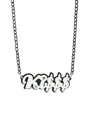 Funky Bling Ki$$$ Short Chain Necklace