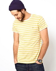 Farah Vintage T-Shirt with Breton Stripe