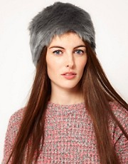 Pieces Fane Faux Fur Hat