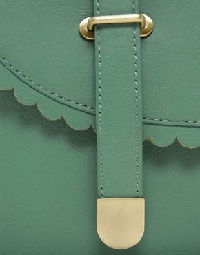 Image 4 ofASOS Scallop Detail Satchel Bag