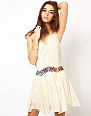Free People Light Heart Dress with Braided Band