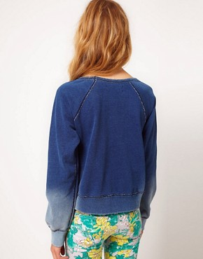 Image 2 ofTextile by Elizabeth and James Sweatshirt Denim Look