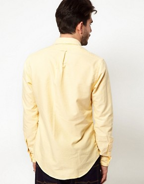Image 2 ofPolo Ralph Lauren Shirt In Yellow Oxford