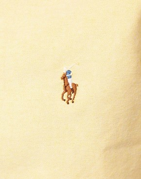 Image 3 ofPolo Ralph Lauren Shirt In Yellow Oxford