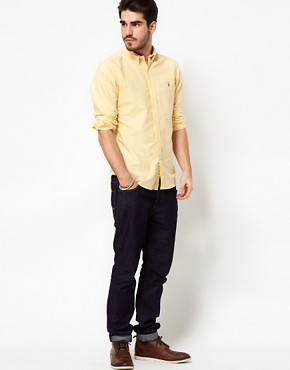 Image 4 ofPolo Ralph Lauren Shirt In Yellow Oxford
