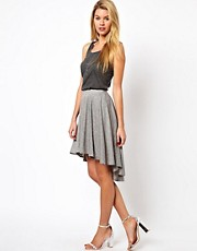 Glamorous Skirt With Dip Back