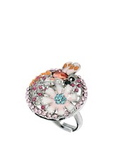 Johnny Loves Rosie Statement Floral Ring