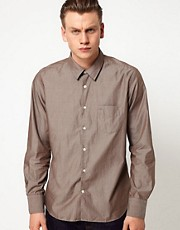 J Lindeberg Shirt Plain Poplin
