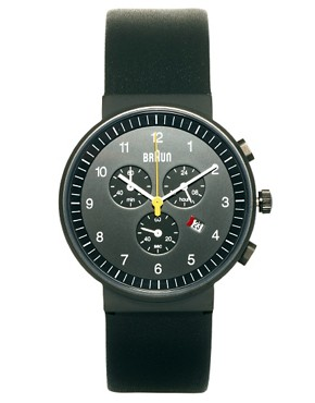 Image 1 ofBraun Quartz Chronograph Watch BN0035BKBKG