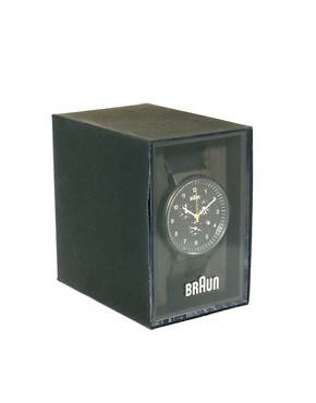 Image 2 ofBraun Quartz Chronograph Watch BN0035BKBKG