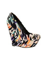 ASOS PALACE Wedges with Metal Toe Cap
