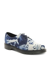 Dr Martens 3-Eye Bleached Denim Shoes