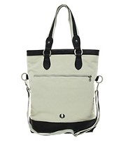 Fred Perry Foldover Tote Bag