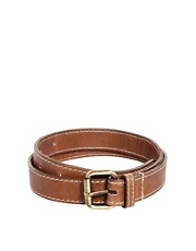 ASOS Edge Stitch Leather Belt