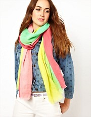 Pieces Gamilla Rainbow Long Scarf