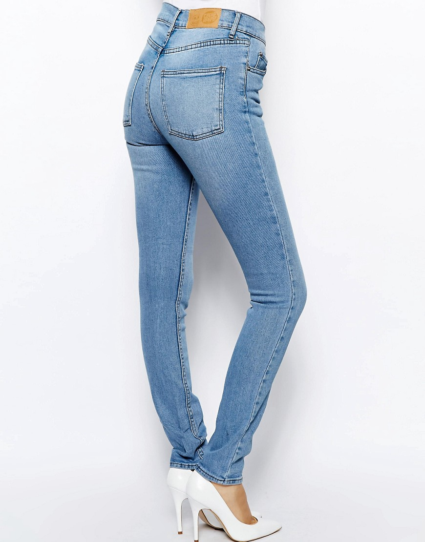 Image 2 of Cheap Monday Second Skin High Waist Skinny Jeans