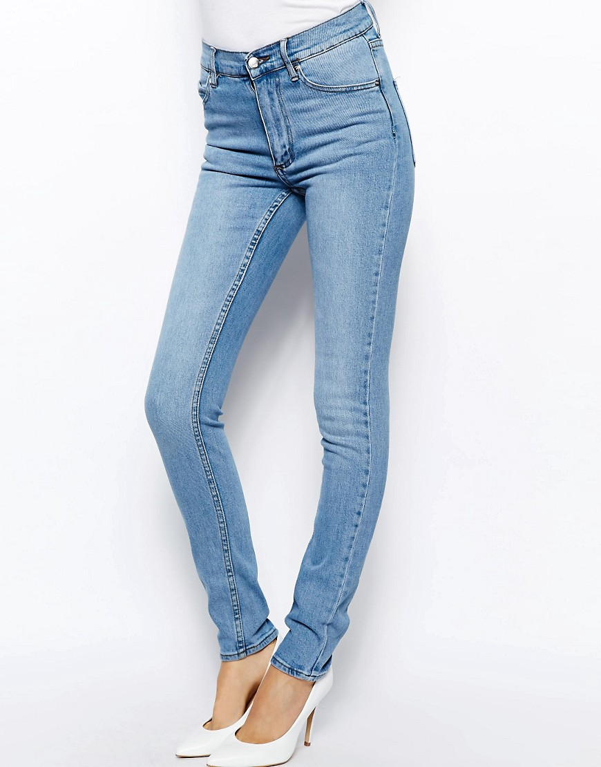 Image 1 of Cheap Monday Second Skin High Waist Skinny Jeans