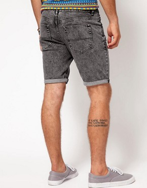 Image 2 ofASOS Shorts With Acid Wash