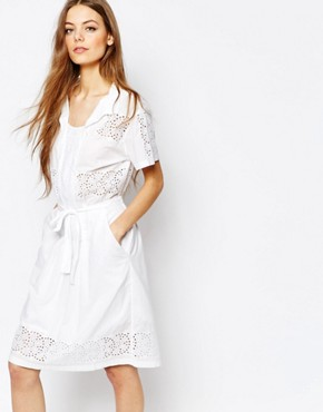 Paul By Paul Smith Broderie Dress