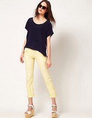 CITIZENS of HUMANITY Dylan Boyfriend Jeans in Banana Rama