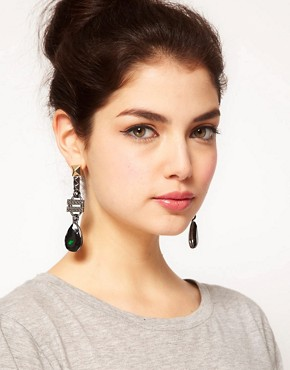 Image 2 ofASOS Baroque Drop Earrings