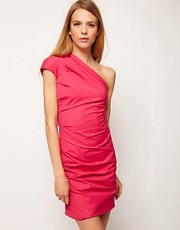 Camilla &amp; Marc One Shoulder Dress with Drape Detail