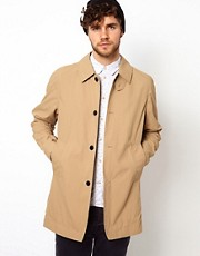 Paul Smith Jeans Trench in Waterproof Cotton