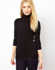 Warehouse Basic Polo Neck Jumper